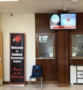 Bakken Elementary School hallway
